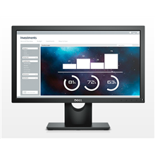 "Dell LCD E2016H 49.4cm(19.5"")HD/WLED/TN/Antiglare/16:9/1600x900/250cdm2/5ms/H-170,V-160/1000:1/0.248mm/VGA,DP/Tilt,VESA/Black"