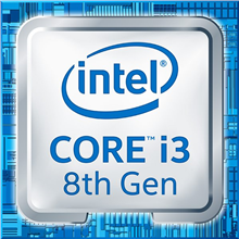 Intel i3-8100, 3.6 GHz, LGA1151, Processor threads 4, Packing Bulk, Component for PC