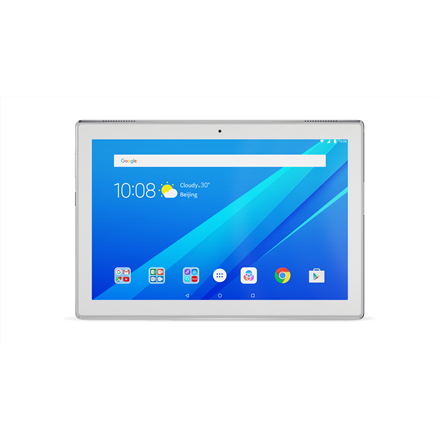 Lenovo IdeaTab 4-X304L 10.1 , White, IPS, 1280 x 800 pixels, Qualcomm, Snapdragon 425, 2 GB, LPDDR3, 16 GB, 4.0, 802.11 b g n, 4G, 2 MP, Rear camera, 5 MP, Android, 7.1.1