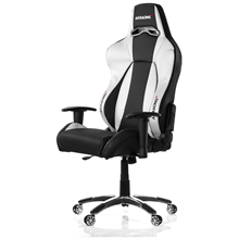 AKracing PREMIUM Gaming Chair Gaming Chair, Black/ silver