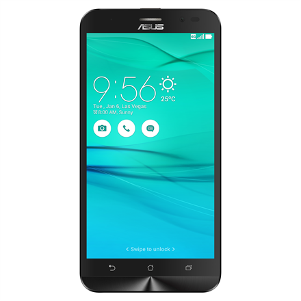 Asus ZenFone Go ZB552KL Black, 5.5 , IPS, 1280x720 pixels, Qualcomm Snapdragon, 410, Internal RAM 2 GB, 16 GB, microSD up to 128GB, Dual SIM, 3G, 4G, Main camera 13 MP, Second camera 5 MP, Android, 6.0, 3000 mAh, Warranty 24 month(s)