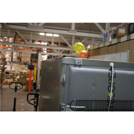 SALE OUT. Snaige RF27SM-P1CB223 Refrigerator 60 cm Combi H150 Fridge 173L Freezer 54L EC A++ Inox Snaige RF27SM-P1CB223720Z18XSNBX Free standing, Combi, Height 150 cm, A++, Fridge net capacity 173 L, Freezer net capacity 54 L, 40 dB, Inox, DAMAGED TOP COR