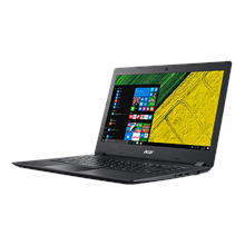 "Acer Aspire 3 A315-31 Black, 15.6 "", HD, 1366 x 768 pixels, Matt, Intel Celeron, N3350, 4 GB,"