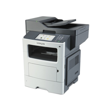 Lexmark MX611dhe Multifunction Monochrome Laser Printer/ 1200 x 1200 dpi / 50ppm / 50cpm/ 1GB (RAM) up to 3GB/ Paper feed: 650 sheets/ USB 2.0, Gb LAN, Duplex/ Printing Supplies: 602X, 602H, 602, 600XA, 500Z, 500ZA/ PT PL CZ HU EG ES GR EA