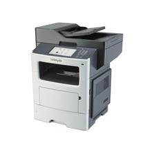 Lexmark MX611dhe Multifunction Monochrome Laser Printer/ 1200 x 1200 dpi / 50ppm / 50cpm/ 1GB (RAM) up to 3GB/ Paper feed: 650 sheets/ USB 2.0, Gb LAN, Duplex/ Printing Supplies: 602X, 602H, 602, 600XA, 500Z, 500ZA/ PT PL CZ HU EG ES GR EA