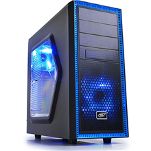 Deepcool TESSERACT SW Midl tower, USB 3.0 , Window, black inside, w/o PSU, mATX / ATX