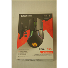 SALE OUT. SteelSeries Rival 650 Wireless Mouse SteelSeries Wireless, DEMO, Gaming mouse, Yes,