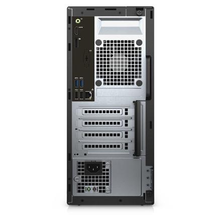 Dell OptiPlex 3050 Desktop, MT, Intel Core i5, i5-7500, Internal memory 8 GB, DDR4, SSD 256 GB, Intel HD, DVD-RW Drive (Reads and Writes to DVD CD, Keyboard language English, Windows 10 Pro, Warranty Basic Next Business Day 36 month(s)