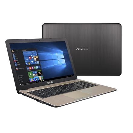 Asus VivoBook A541UA Black Chocolate, 15.6 , FHD, 1920 x 1080 pixels, Matt, Intel Core i3, i3-6006U, 4 GB, DDR4, SSD 128 GB, Intel HD, Without ODD, Endless OS, 802.11 b g n, Bluetooth version 4.0, Keyboard language English, Warranty 36 month(s), Bat