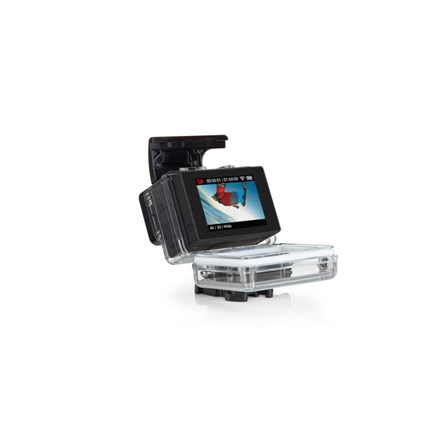 GoPro ALCDB-401 Seamlessly attaches to the back of your GoPro; Play back videos and photos, including audio and instant slow-motion playback; See what your camera sees to frame your shots with confidence; Delivers convenient touch control of all came
