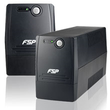 Fortron FSP Line Interactive UPS FP-400/ 400VA, 240W/ AVR/ 2 Schuko Output Sockets