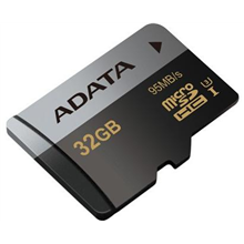 ADATA Premier Pro UHS-I U3 32 GB, microSDHC, Flash memory class 10