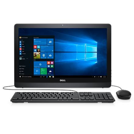 Dell Inspiron 3264 AIO, 21.5 , Intel Core i5, i5-7200U, Internal memory 8 GB, DDR4, HDD 1000 GB, Intel HD, DVD-RW Drive (Reads and Writes to DVD CD), Keyboard language Englsih, Linux, Touchscreen