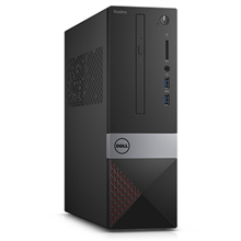 Dell Vostro 3250 SFF, Intel Core i7, i7-6700, Internal memory 8 GB, DDR3, Hard drive capacity 1000 GB, HDD, Intel HD Graphics 530, 16X DVD+/-RW, Keyboard language English, Linux, Warranty 36 month(s)
