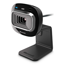 Microsoft T3H-00013 LifeCam HD-3000 Black, 720p