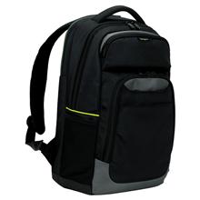 "Targus CityGear TCG655EU Fits up to size 14 "", Black, Shoulder strap, Poly/PU, Backpack"