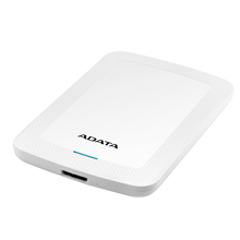 "ADATA External Hard Drive HV300 1000 GB, 2.5 "", USB 3.1, White"