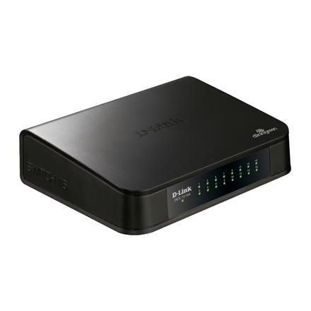 D-LINK DES-1016A/E1, 16-port UTP 10/100Mbps Auto-sensing, Stand-alone, Unmanaged, Desktop Fast Ethernet Switch, D-link Green technology, Plastic case
