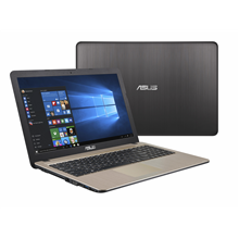 "Asus VivoBook X540NA Chocolate Black, 15.6 "", HD, 1366 x 768 pixels, Matt, Intel Pentium,"