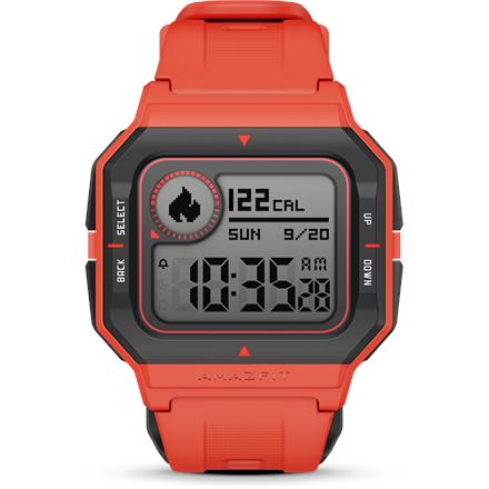 Amazfit Neo raudonas išmanus laikrodis