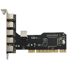 Logilink PCI Interface card, 4+1x USB 2.0, NEC chipset