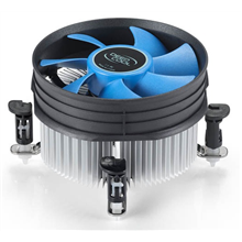 Deepcool Cpu cooler Theta 10,  Intel socket 115x, 92mm fan, hydro bearing, 95W (TDP), with push-pin clips     * Ideal thermal solution for Intel 115x whit cooper insertion.     * Radial heatsink to dissipate heat very efficiently.