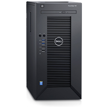 "Dell PowerEdge T30 Tower, Intel Xeon, E3-1225 v5, 3.3 GHz, 6 MB, 4T, 4C, 8 GB, UDIMM DDR4, 2133 MHz, 1000 GB, 7200 RPM, SATA, 6 Gbit/s, Up to 4 x 3.5"", Power supply 290 W, No OS, Warranty Basic Onsite 36 month(s)"