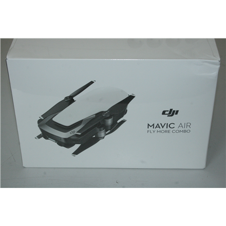 SALE OUT. DJI Mavic Air Fly More Combo, Arctic White DJI Mavic Air Fly More Combo, Arctic White DAMAGED ONLY PACKAGING