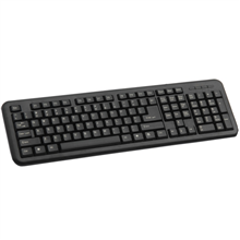 Codegen Keybord KB-2005 Black/ USB/ EN,RU/ Silk Printing