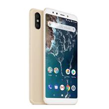 "Xiaomi Mi A2 Gold, 5.99 "", LTPS IPS LCD, 1080 x 2160 pixels, Qualcomm Snapdragon, 660, Internal RAM 4 GB, 32 GB, Dual SIM, Nano-SIM, 3G, 4G, Main camera Dual 12+20 MP, Secondary camera 20 MP, Android, 8.1, 3000 mAh"