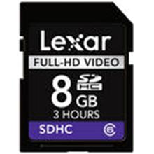 Lexar 8GB SDHC