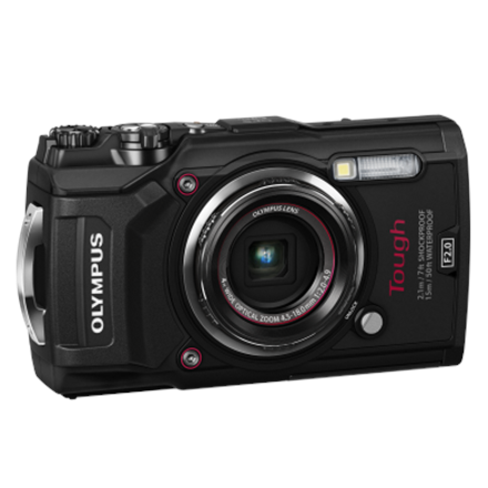 Olympus TG-5 Compact camera, 12 MP, Optical zoom 4 x, Image stabilizer, ISO 12800, Display diagonal 3.0 , Wi-Fi, Focus TTL, Video recording, Lithium‑Ion, Black