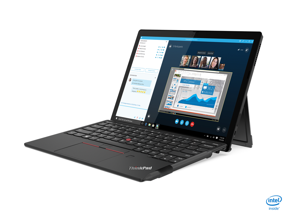 Lenovo  ThinkPad X12 Detachable (Gen 1) Black