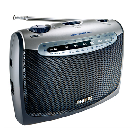 Philips Portable Radio AE2160 00C 300 mW RMS W
