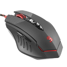 A4Tech TL70 Terminator Laser Gamin Mouse wired, USB, black/red