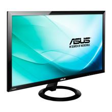 "Asus VX248H 24 "", Full HD, 1920 x 1080 pixels, 16:9, LED, 1 ms, 250 cd/m², Black, Signal Input : HDMI x 2, D-Sub, DVI-D (via HDMI-to-DVI cable); PC Audio Input : 3.5mm Mini-Jack; AV Audio Input : HDMI; Earphone jack : 3.5mm Mini-Jack., AC, Audio"