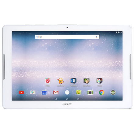 Acer Iconia One 10 B3-A32 10.1 , White, 10-finger touch, IPS, 1280 x 800 pixels, MTK, MT8735, 2 GB, LPDDR3, 16 GB, Bluetooth, 4.0, 802.11a b g n, 3G, 4G, Front camera, 2 MP, Rear camera, 5 MP, Android, 6.0