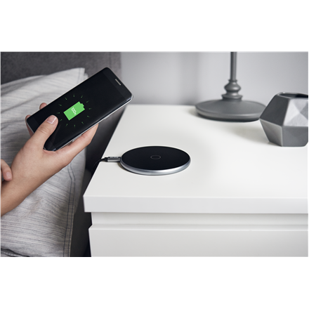 Acme CH301G Qi wireless charger pad  Wireless fast charging technology, Space grey