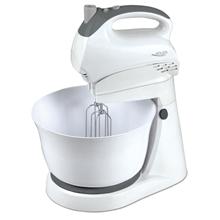 Adler AD 4202 Mixer with bowl, 5 speed, Turbo buton, 300W, White
