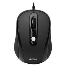 A4Tech mouse N-250X V-Track padless mouse, black