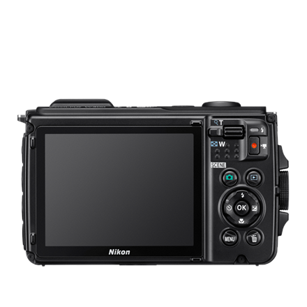 Nikon Coolpix W300 Compact camera, 16.0 MP, Optical zoom 5 x, Digital zoom 4 x, ISO 6400, Display diagonal 3.0 , Wi-Fi, Focus 0.5m - ∞, Video recording, Lithium-Ion (Li-Ion), Black