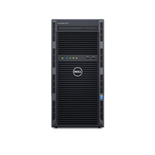 "Dell Server PowerEdge T130 E3-1240v6/No RAM/No HDD/4x3.5""/PERC H330/iDRAC8 Basic/No OS/3Y Warranty"