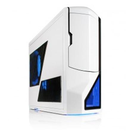 NZXT Phantom, w o PSU, mATX   ATX E-ATX, White NZXT Phantom USB 3.0 x1, USB 2.0 x1, eSATA x1, White, Midle-Tower