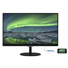 "PHILIPS 237E7QDSB 23"" W-LED, 1920 x 1080, 16:9, 250 cd/m², 5ms, 20M:1, 178º"