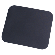 Logilink Mouse Pad, Picture mouse pad black, 220x250x3mm