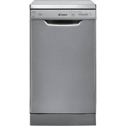 Candy Dishwasher CDP 1L949X Free standing, Width 45 cm, Number of place settings 9, Number of programs 5, A+, Inox