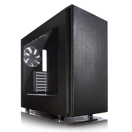 Fractal Design Define S Side window, Black, Midi-Tower, Power supply included No