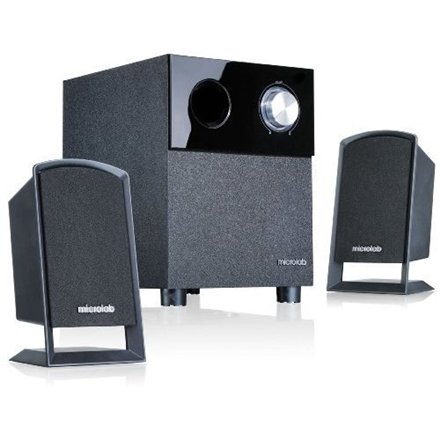 Microlab M-109 2.1 Speakers  10W RMS (2,5Wx2+5W)  Black  Wooden