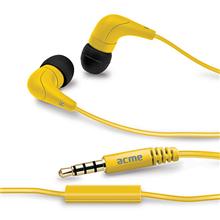 Mini ausinės ACME HE15Y Groovy in-ear headphones with mic