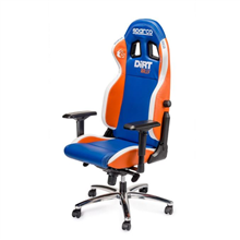Sparco Gaming chair, Codemasters - Dirt Rally, Blue